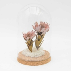 Kopuła z wiecznymi kwiatami